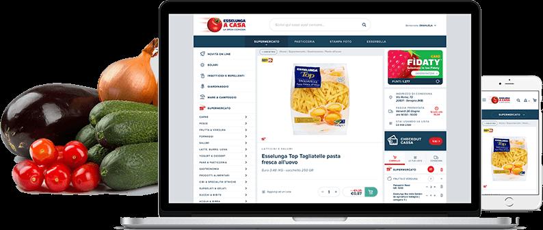 Fare la spesa con App Esselunga